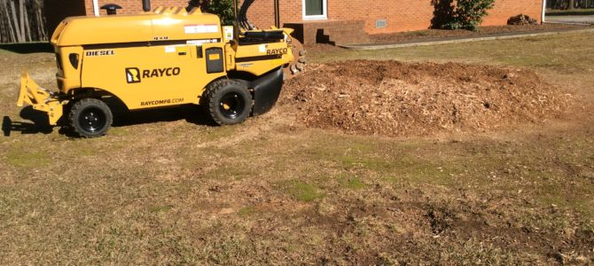 Concord NC Stump Removal